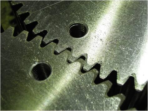 歯車は、適切なバックラッシを設定する Before