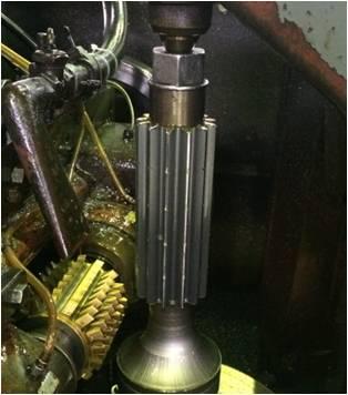 歯車を設計する際は、必ず平行度・垂直度を記載する After