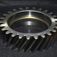 軸付き歯研歯車(研磨)